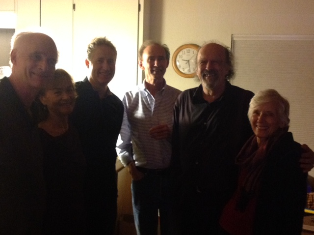 Gathering after house concert