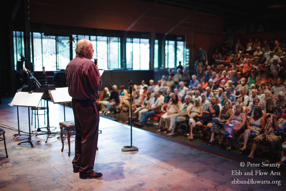 RPollock addresses audience