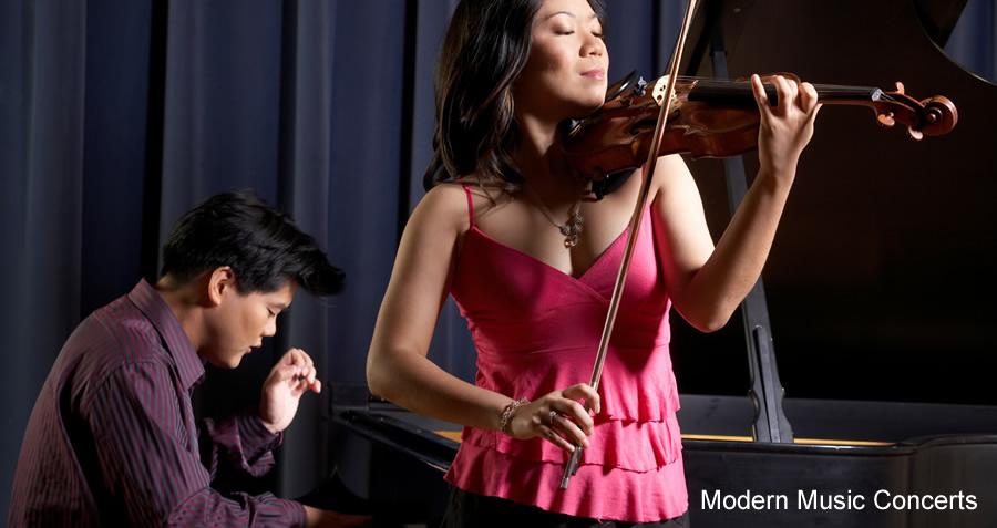 Duo Diorama - Minghuan Xu, violin, Winston Choi, piano