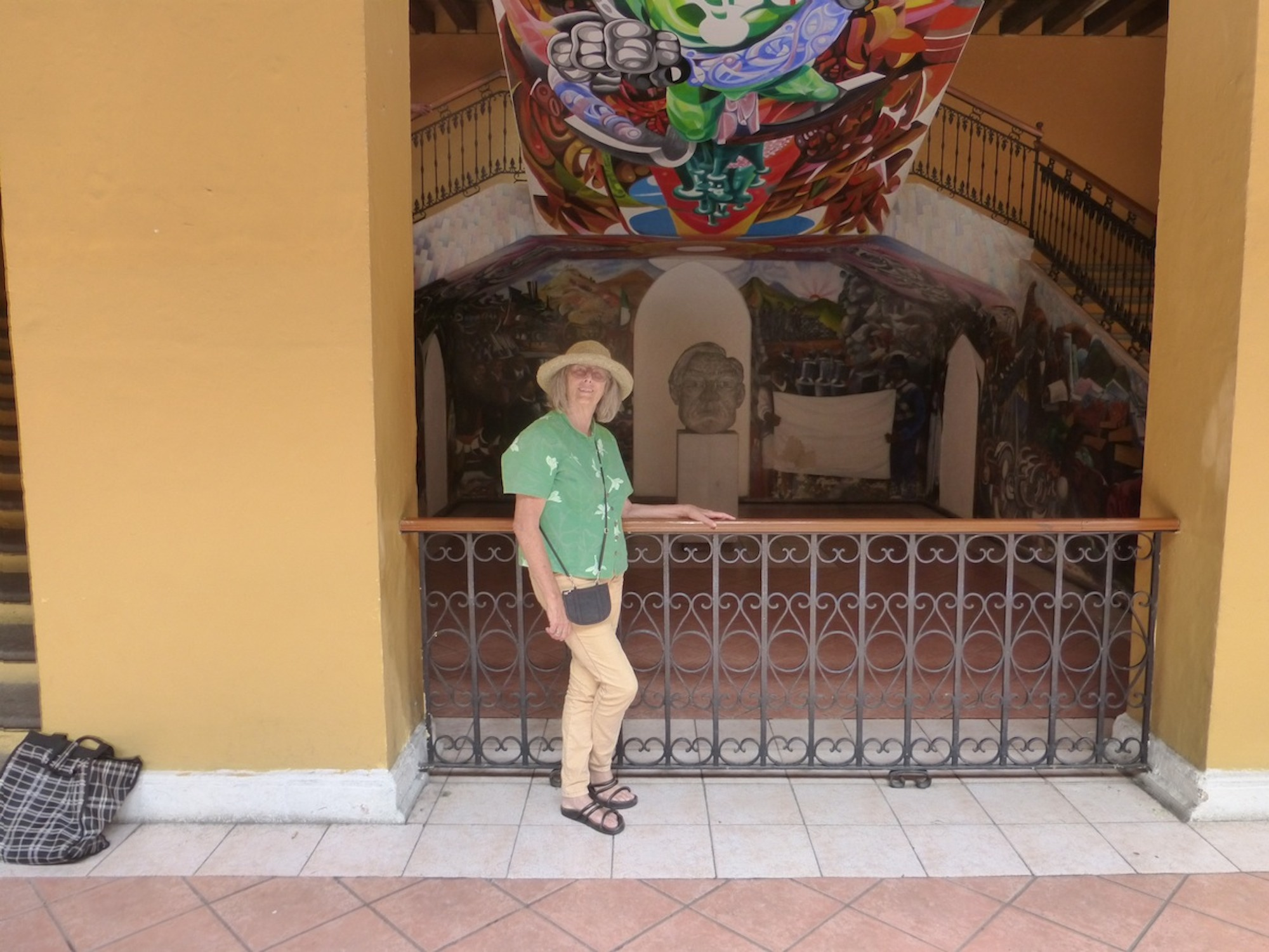 Klazine at Coatepec mural