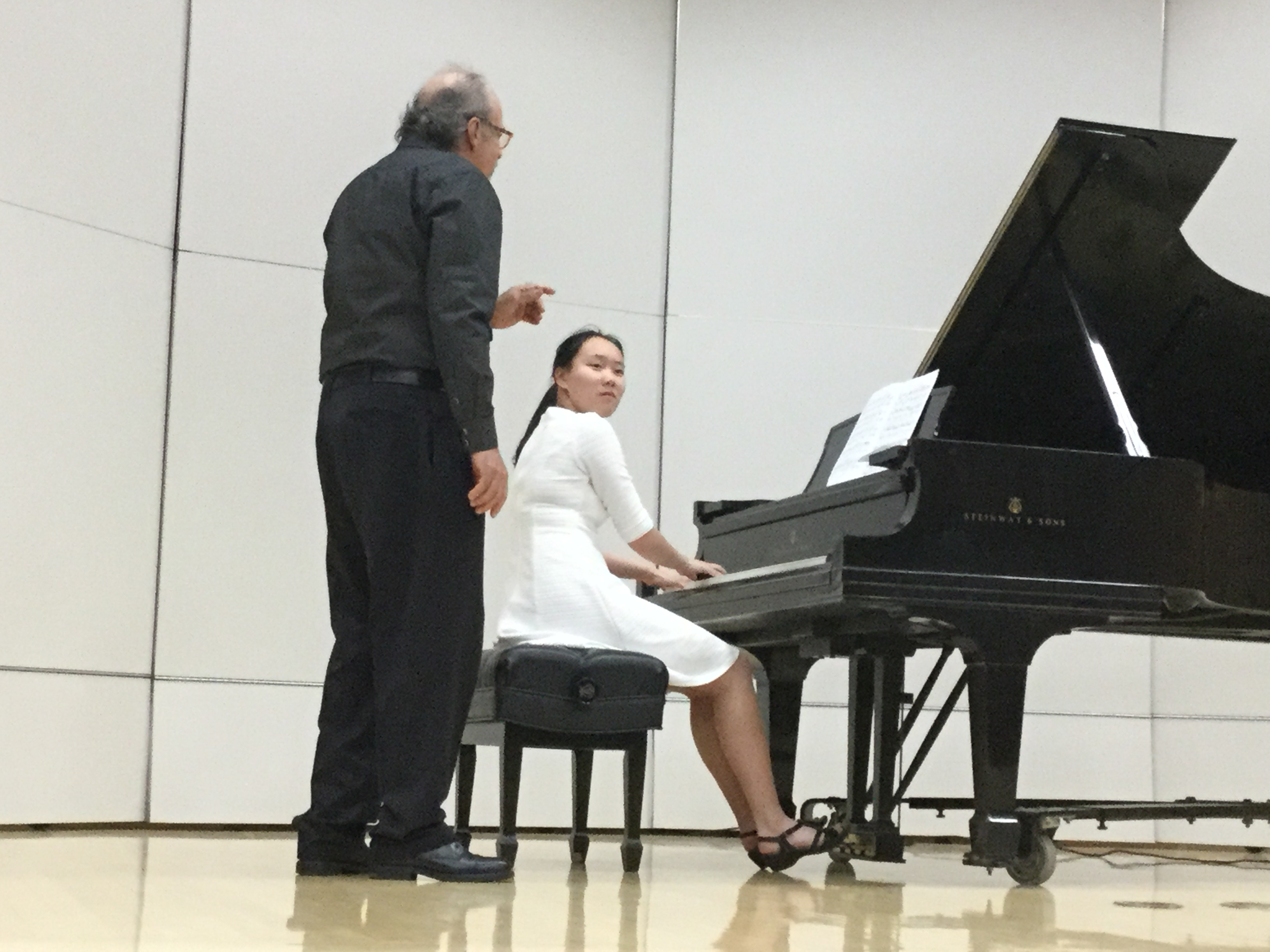 Pianist Tifany Wong