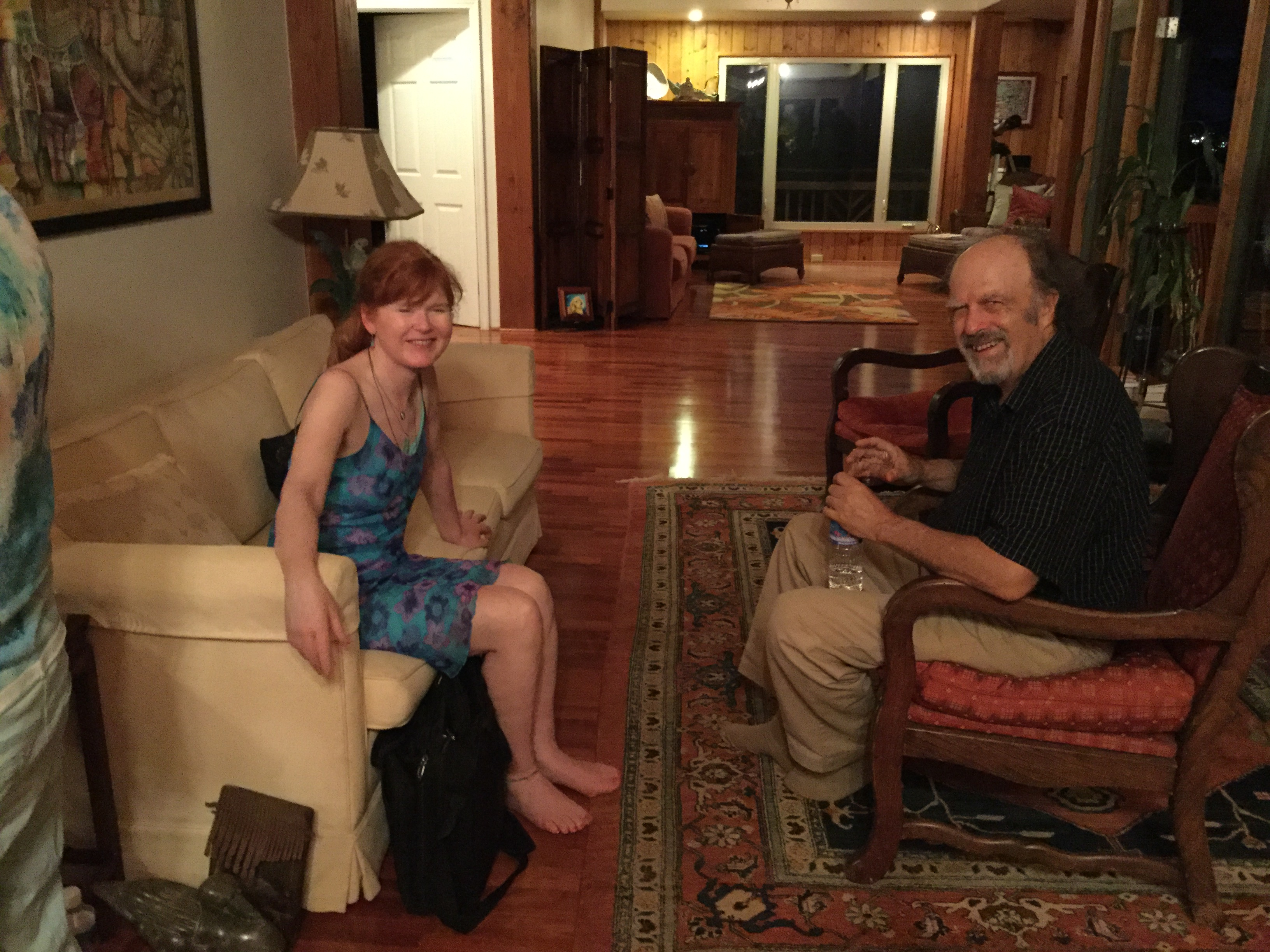 Sarah Cahill and RP